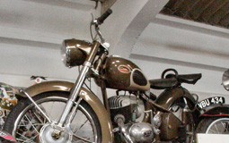 German Express 1954 200cc model norfolk motorcycle museum