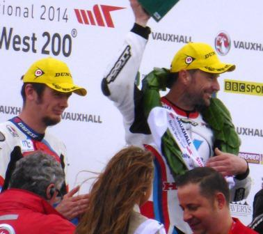 Conor Cummins and Bruce Anstey