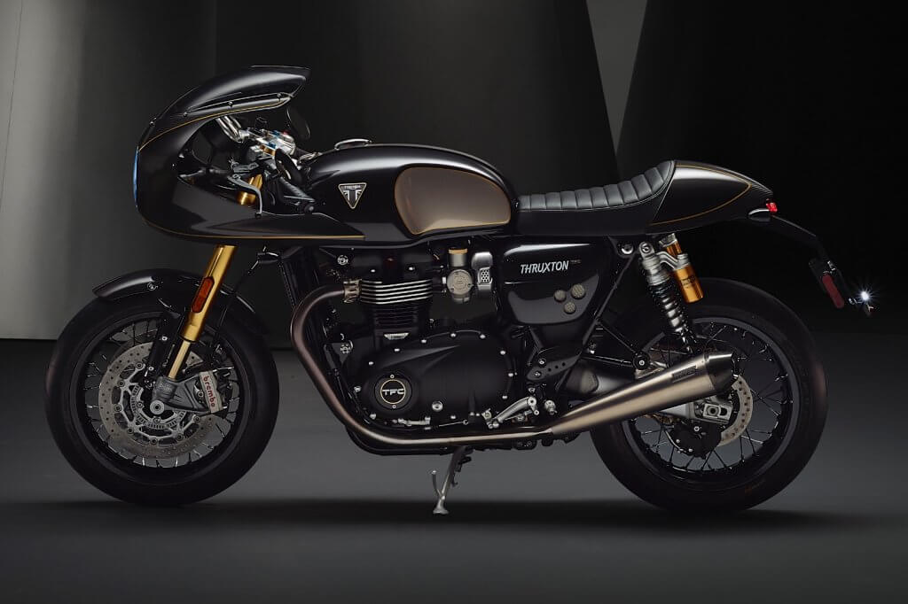 Triumph Motorcycles Limited Edition TFC Triumph Bike Feature by bike trader We Buy Any Bike