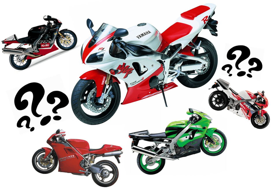 What Order Would You Put These In: Top 10 SportsBikes of the 90's