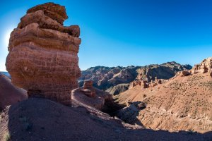 Charyn Canyon ride unlimited