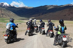 Ladies-in-Ladakh riders