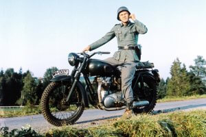 the great escape - steve mcqueen - WWII - triumph motorbike - most famous motorbikes - bikes in movies - sell my bike - motorbike trader - webuyanybike - value my bike