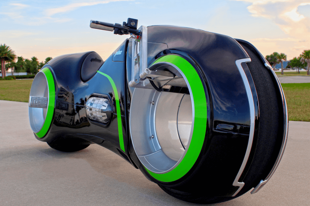 Tron Bike: The Real Deal