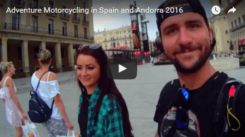Video Edit Of Riding My Motorbike To Spain!
