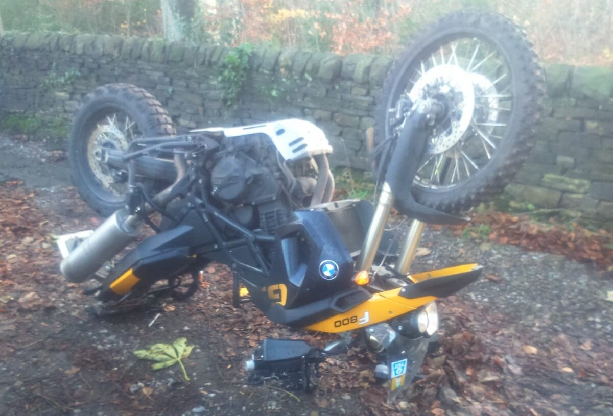 My motorbike was stolen, twice!..and they went to shocking lengths