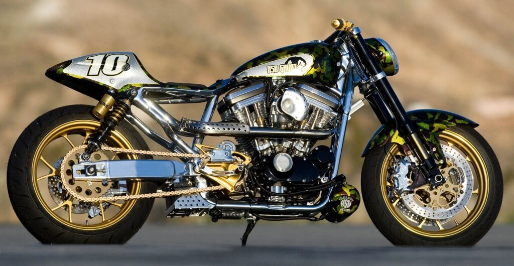roland sands grunt flattrack sportster custom motorbike we buy any bike webuyanybike bike trader