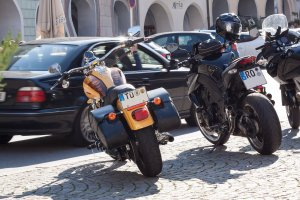 motorbikes travelling events