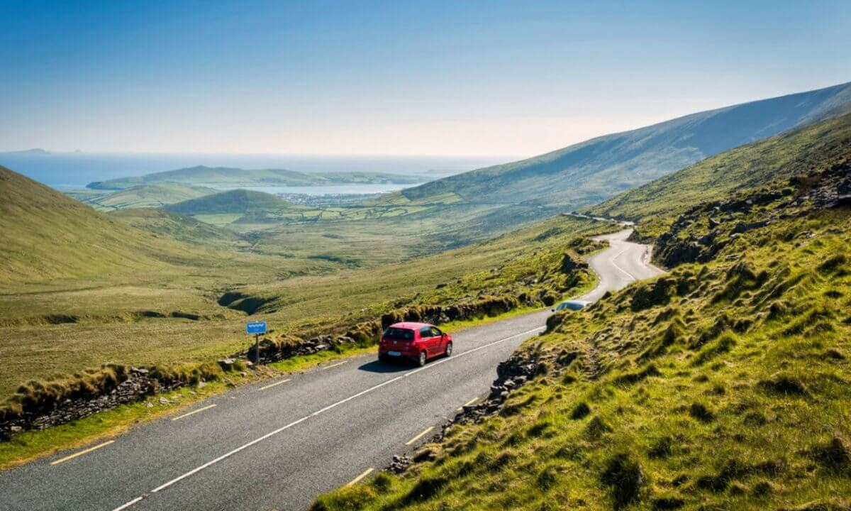 10 of the Best Motorcycle Touring Roads in Ireland