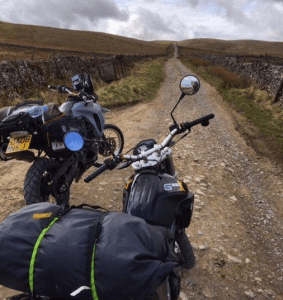 off road motorbike travel