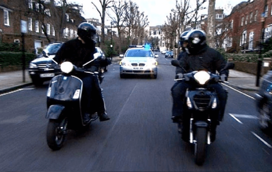 Motorcycle Jacking: Be Prepared