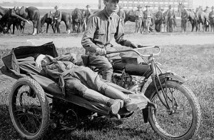 war time London Motorcycle Culture