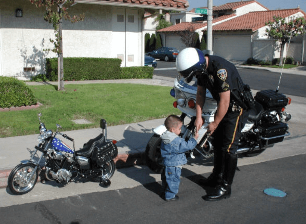 Ever Been Pulled Over On A Motorcycle?